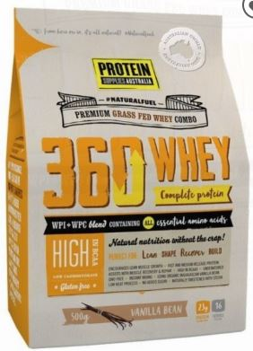 PROTEIN SUPPLIES AUSTRALIA 360 WHEY